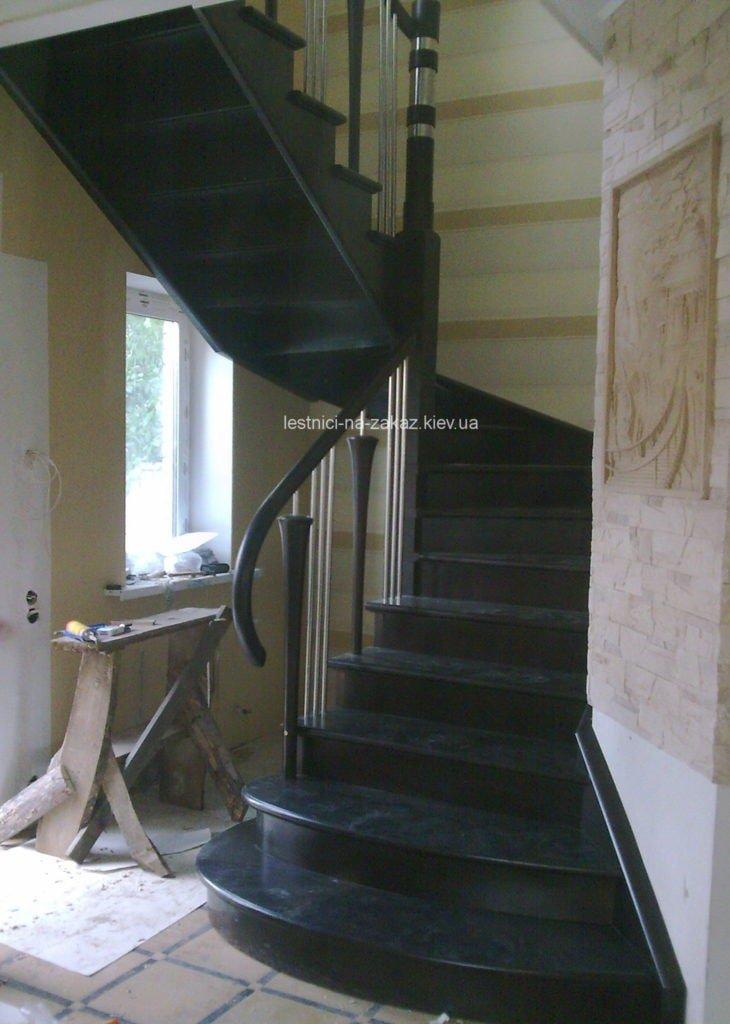 варианты забежной лестницы