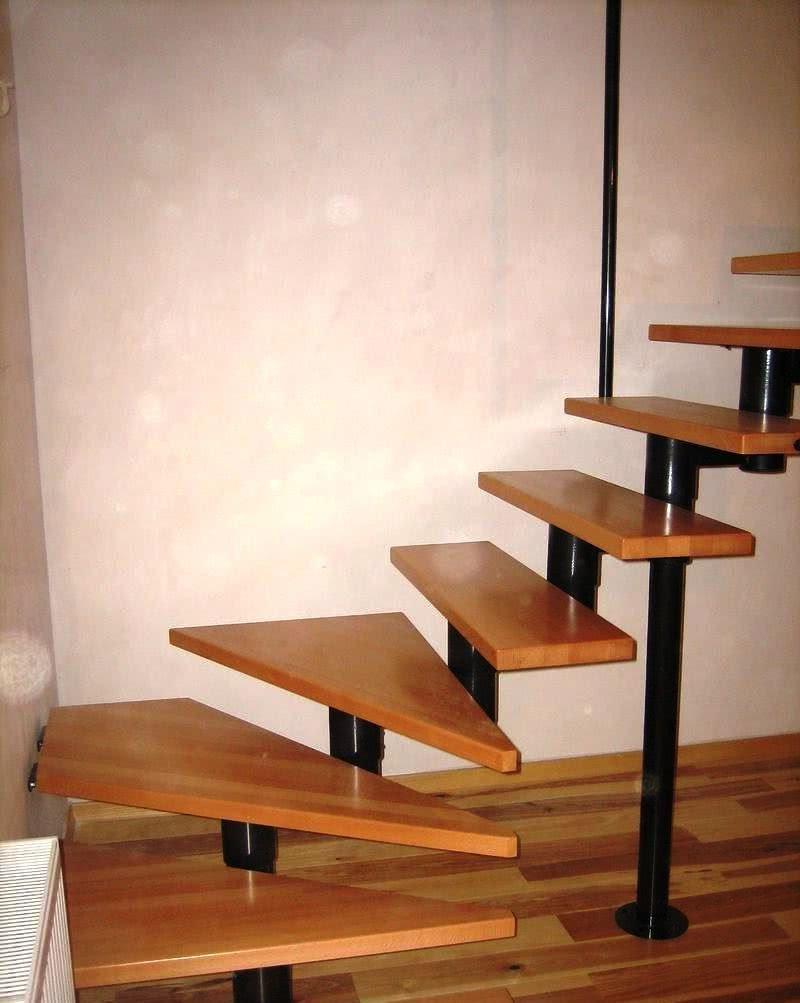 модульная изготовление комбинированной лестницы