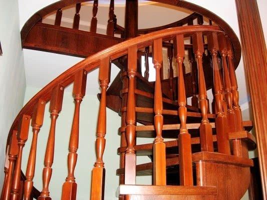 спиральная лестница на заз
