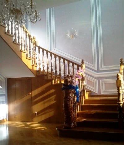 что такое забежная лестница