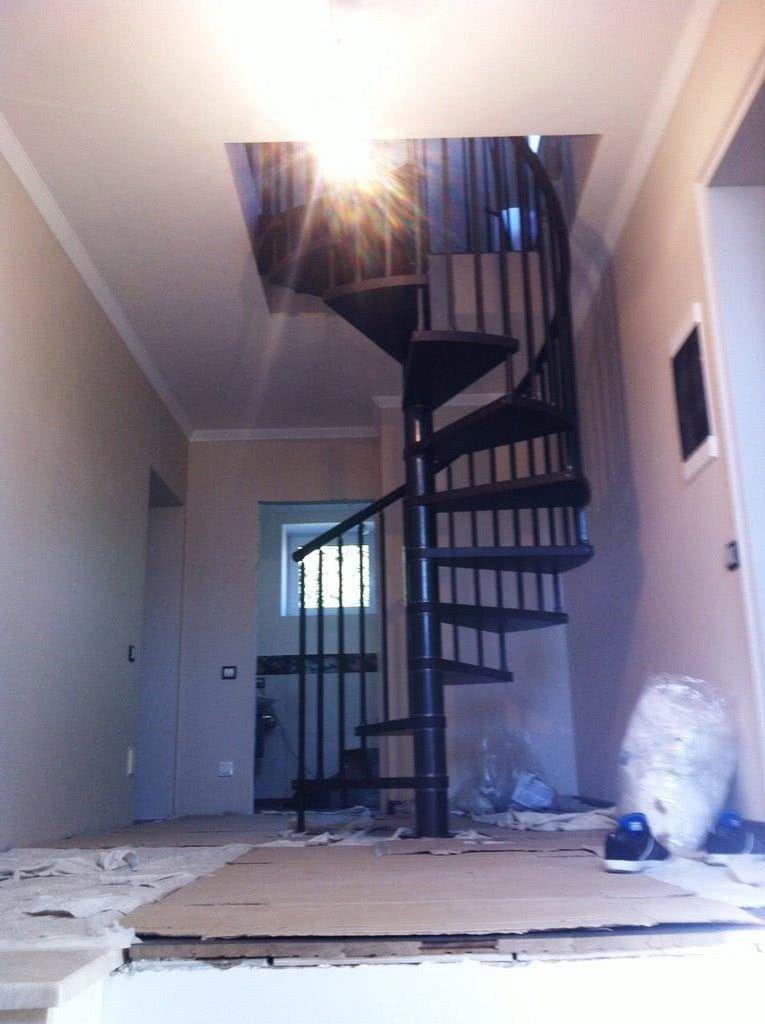 дизайн проект подвесной лестницы