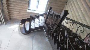 каркасная лестница под заказ Киев