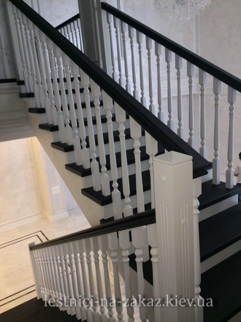 дизайн проект деревянной лестницы на заказ в Украине