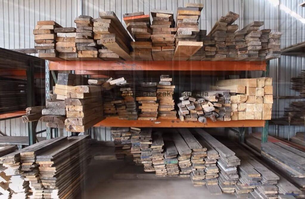 древисина для стола река
