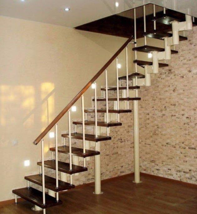 характеристики модульной лестницы преимущества