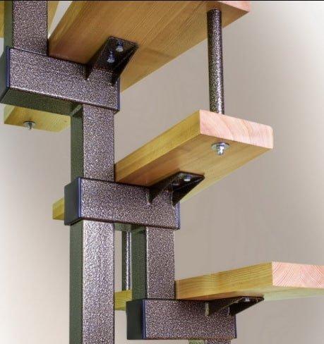 характеристики модульной лестницы на заказ