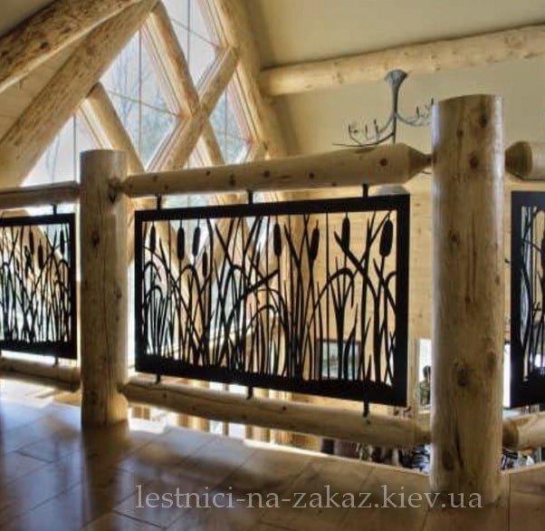 деревянные перила на заказ для лестниц