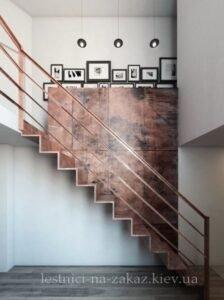 дизайн каркаснойе лестницы из металла на заказ