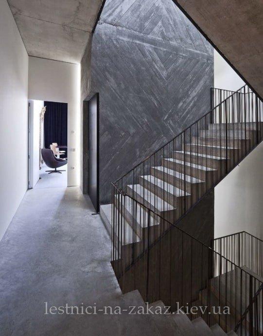 необычная лестница из бетона идеи