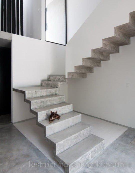 Консольная лестница без перил идеи