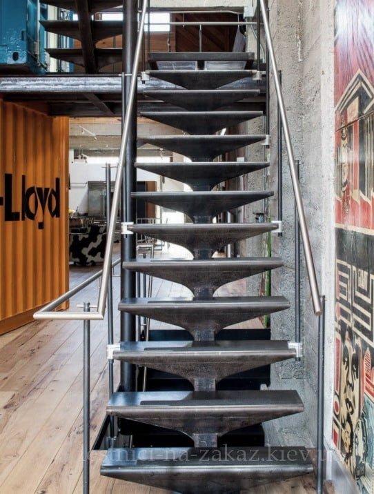 возмоные формы модульной лестниц