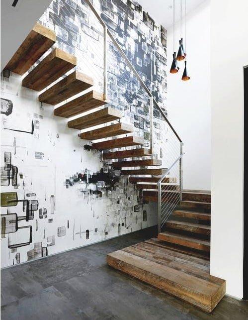 100 идей лестниц