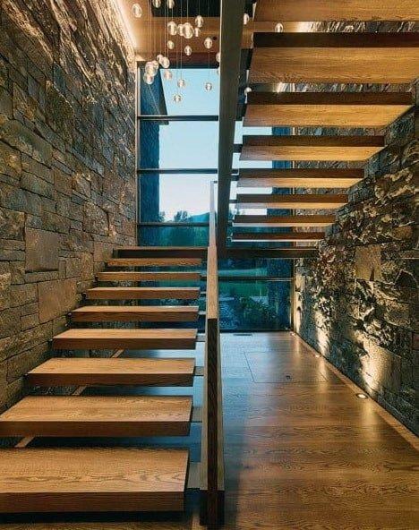 дизайн идени лестниц на второй этаж