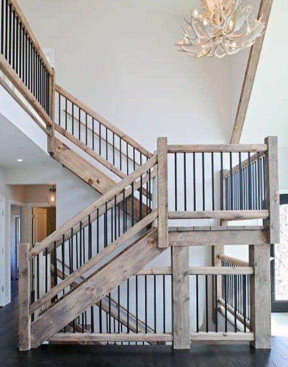 лестница комбинированная Ирпень