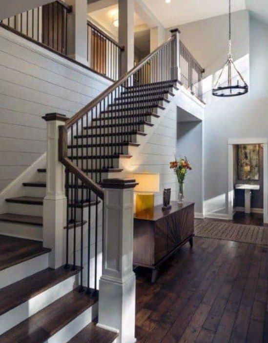 комбинированные лестницы варианты
