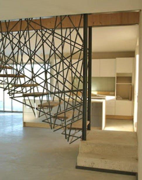 дизайнерская подвесная лестница на заказ