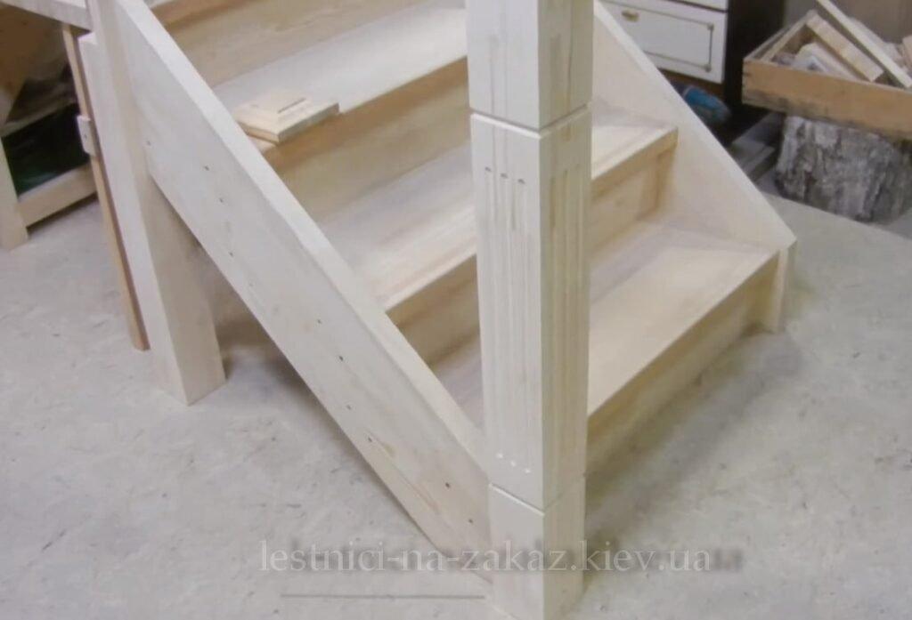 обработка дерева для лестниц