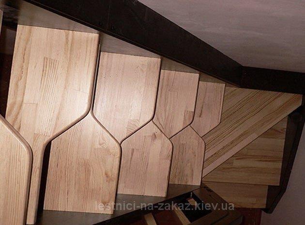 Лестница гусиный шаг: фото, расчет