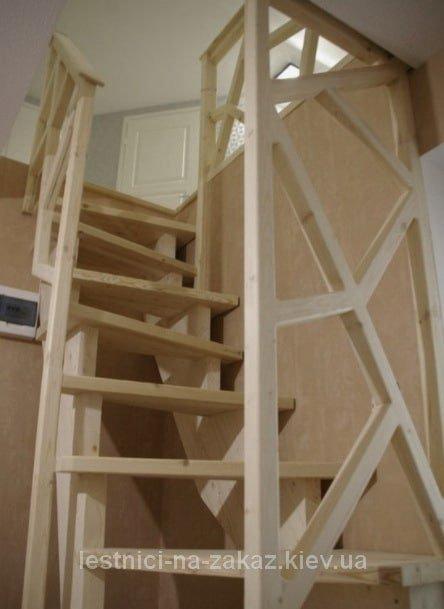 """лестница """"утиный шаг"""" на заказ"""