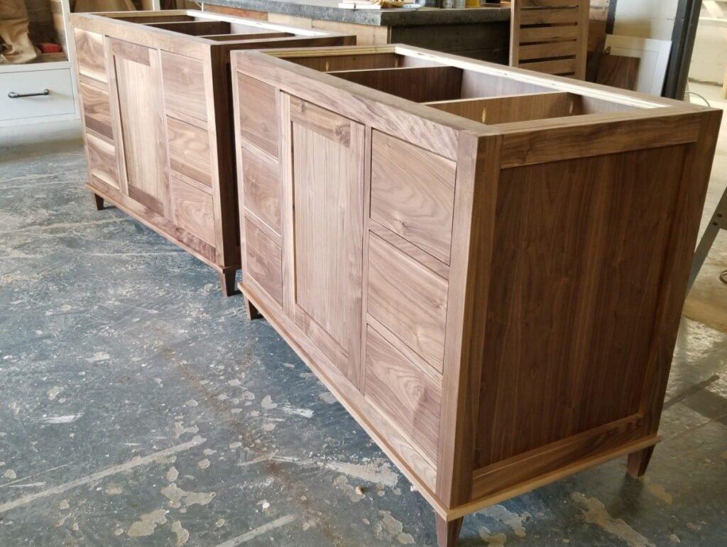 деревянные витрины на заказ