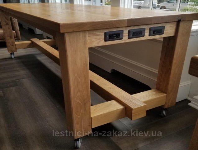 дубовые столы на заказ