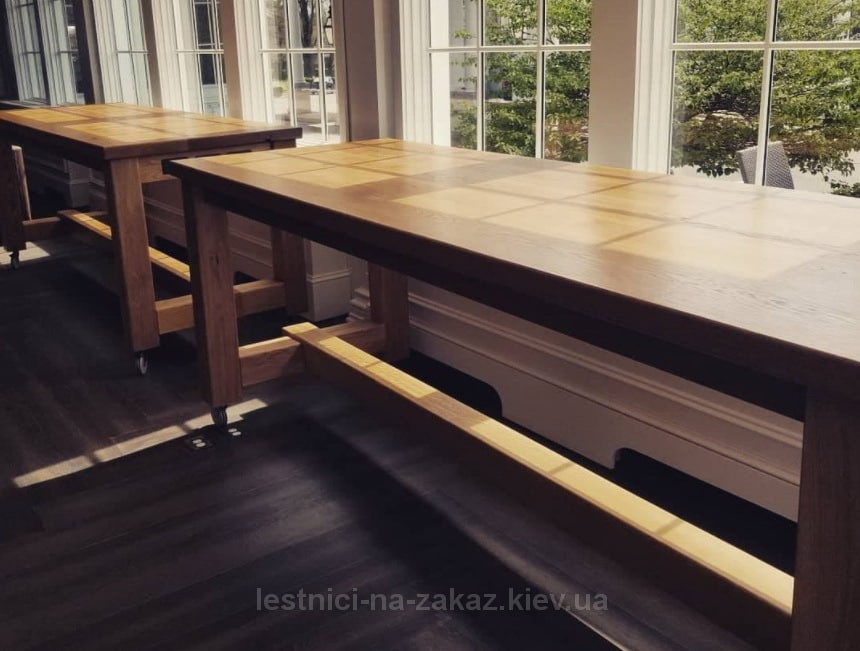 столы из ясеня под заказ
